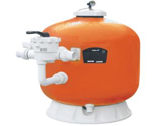 顶式过滤砂缸、侧式过滤砂缸和卧式过滤砂缸